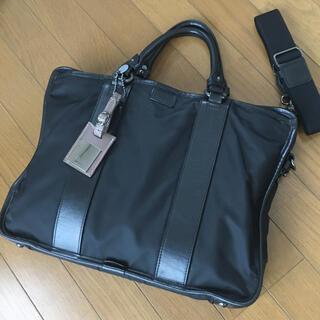 『F.CLIO』美品 エフクリオ ナイロン×レザー 2way ビジネスバッグ