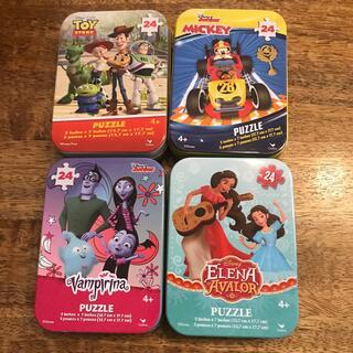 ディズニー(Disney)のコストコ ディズニー パズル缶 24ピース(その他)