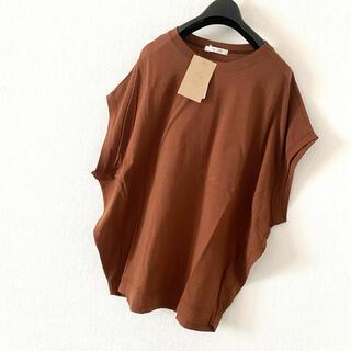 Plage - 新品 plage リヨセルハイゲージTシャツ ブラウン 日本製 完売品