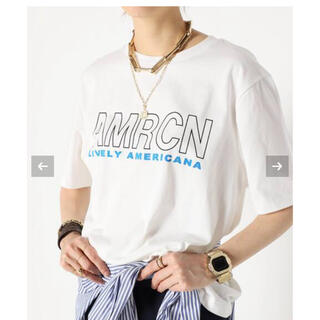 DEUXIEME CLASSE - MUSE  AMERICANA/アメリカーナ WIDE Tシャツ