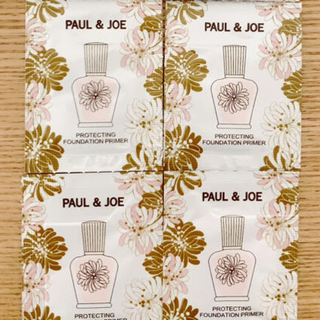 PAUL & JOE - ポール&ジョー 化粧下地サンプル4包