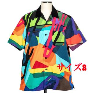 sacai - 全店完売 sacai x KAWS  Shirt 半袖シャツ マルチ サイズ2