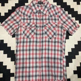 アタッチメント(ATTACHIMENT)のアタッチメント attachment 半袖チェックシャツ アナクローム グラム(シャツ)