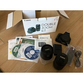 Canon - 【25日までの値下げ】Canon EOS Kiss X7ダブルズームキット