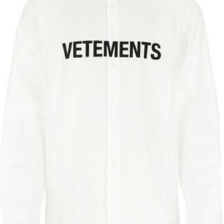 Balenciaga - ヴェトモン   ロゴ シャツ SSENSE購入 正規品