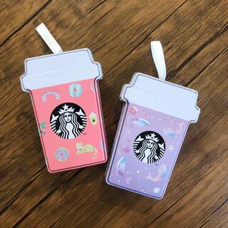 スターバックスコーヒー(Starbucks Coffee)のスターバックス/Starbucks coffee 25周年 ギフト缶のみ(ノベルティグッズ)