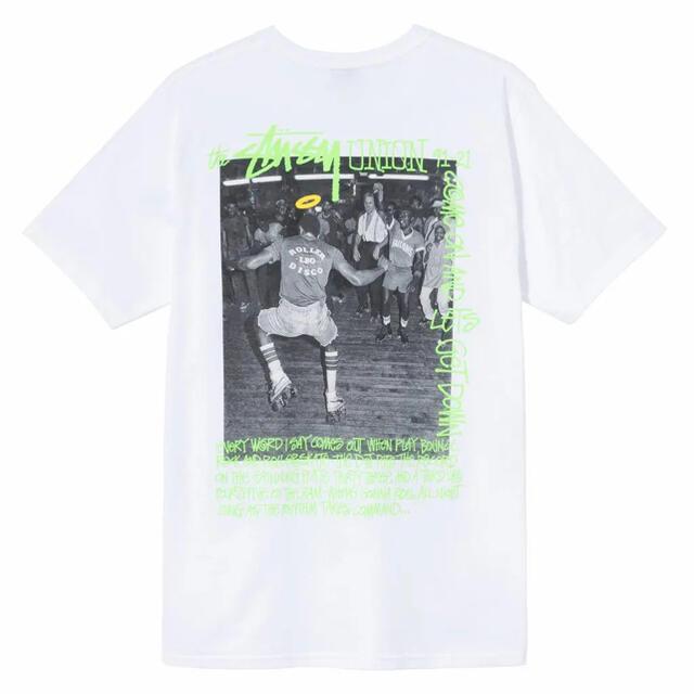 STUSSY(ステューシー)のSTUSSY x UNION Tシャツ XL メンズのトップス(Tシャツ/カットソー(半袖/袖なし))の商品写真