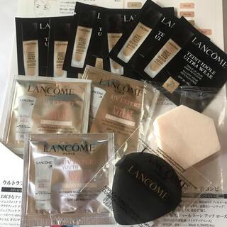 LANCOME - ランコム 化粧下地・ファンデーション・パフ サンプル 11点