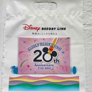 ディズニー(Disney)のリゾートライン 20周年フリーきっぷ! 使用済み(その他)