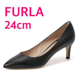 Furla - FURLA 黒パンプス 24cm 85%OFF【試着のみ】【美品】