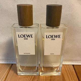 ロエベ(LOEWE)のめぐみん様 専用‼︎LOEWE ロエベ001 香水 メン、ウーマン2本セット(香水(女性用))