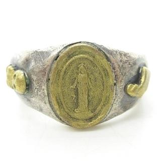 アンプジャパン(amp japan)のアンプジャパン Mary リング 指輪 マリア スカル 髑髏 シルバー 15号(リング(指輪))