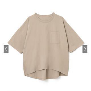 グレイル(GRL)のGRL   グレイル 胸ポケット付きビッグTシャツ[ze241](Tシャツ(半袖/袖なし))