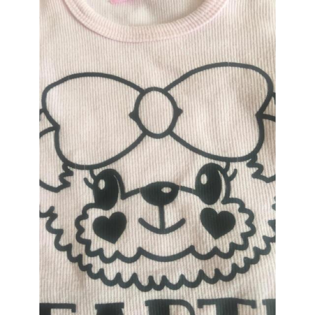 EARTHMAGIC(アースマジック)のアースマジック  ローズTシャツ キッズ/ベビー/マタニティのキッズ服女の子用(90cm~)(Tシャツ/カットソー)の商品写真