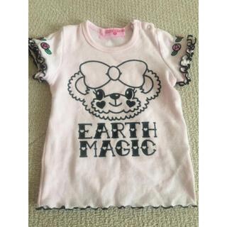 EARTHMAGIC - アースマジック  ローズTシャツ
