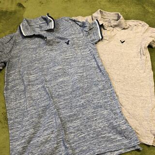アメリカンイーグル(American Eagle)の2枚‼︎メンズM &X S  アメリカンイーグルポロシャツ(ポロシャツ)