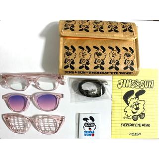 JINS - JINS & SUN × VERDY Type D PINK セット