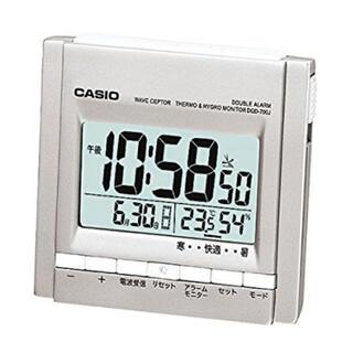 カシオ(CASIO)のCASIO DQD-710J-8JF 電波時計(置時計)