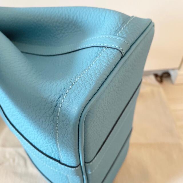 Hermes(エルメス)のsa様専用 エルメス ガーデンパーティーTPM ブルーノール レディースのバッグ(トートバッグ)の商品写真