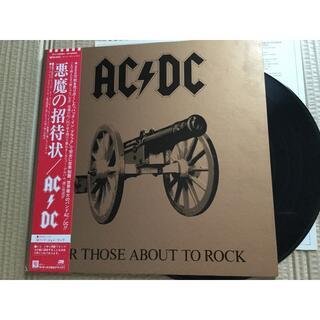 AC/DC  悪魔の招待状 LPレコード