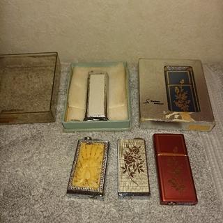 ヴィンテージ香水入れセット(彫刻/オブジェ)