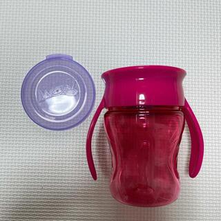 Bellunico - 水通しのみ ベルニコ Wow Cup ベビー ベビーマグ ピンク