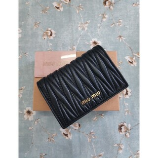 miumiu - ❥素敵♬❀MIUMIU❥さいふ❀ミュウミュウ  小銭入れ  カード入れ ブラック