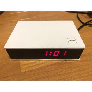 ムジルシリョウヒン(MUJI (無印良品))の無印良品 MUJI デジタル目覚まし時計(置時計)