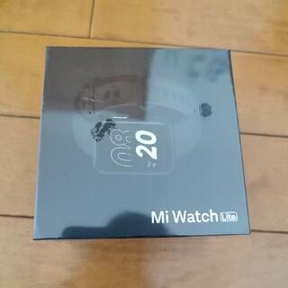 新品未使用 Xiaomi Mi Watch Lite スマートウォッチ (腕時計(デジタル))