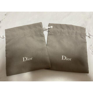 Dior - Dior ディオール 巾着 2枚