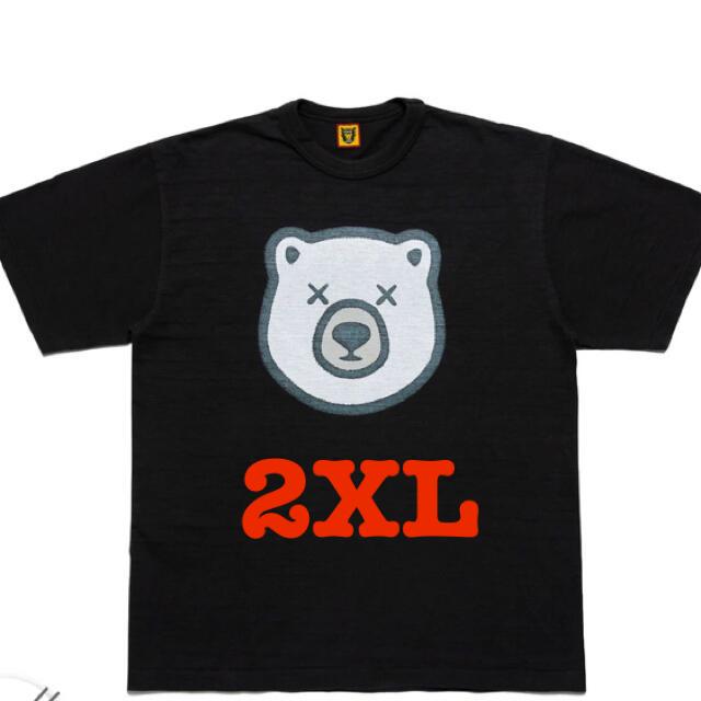 """A BATHING APE(アベイシングエイプ)のHUMAN MADE KAWS T-Shirt #5 """"Black"""" メンズのトップス(Tシャツ/カットソー(半袖/袖なし))の商品写真"""