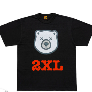 """アベイシングエイプ(A BATHING APE)のHUMAN MADE KAWS T-Shirt #5 """"Black""""(Tシャツ/カットソー(半袖/袖なし))"""
