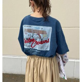 ロデオクラウンズワイドボウル(RODEO CROWNS WIDE BOWL)のロデオ ★10th vintage Tシャツ【BLU】(Tシャツ(半袖/袖なし))