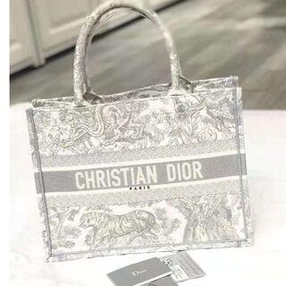 クリスチャンディオール(Christian Dior)のDior☆ブックトート スモール☆トワルドジュイ☆グレー(その他)