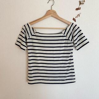 MERCURYDUO - MERCURYDUO ボーダー Tシャツ トップス