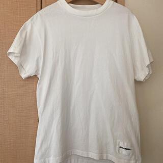 ジルサンダー(Jil Sander)の美品ジルサンダーTシャツ(Tシャツ/カットソー(半袖/袖なし))