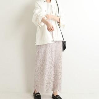 IENA - 【イエナ】レースタイトスカート