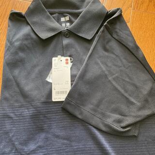 ユニクロ(UNIQLO)の新品ユニクロ:ポロシャツLサイズ(ポロシャツ)
