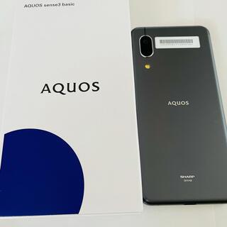 アクオス(AQUOS)のalice様専用!AQUOS sense3 basic  SHV48 未使用品(スマートフォン本体)