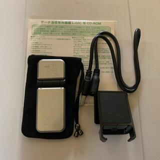 エヌティティドコモ(NTTdocomo)のl-02c  モバイルルーター(PC周辺機器)