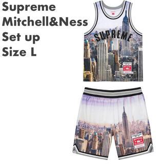 シュプリーム(Supreme)の【L】Supreme Mitchell&Ness Jersey & Short(タンクトップ)