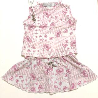 baby Dior - ベビーディオールDIOR★ガールズセットアップ☆ノースリーブ&スカート4Aキッズ