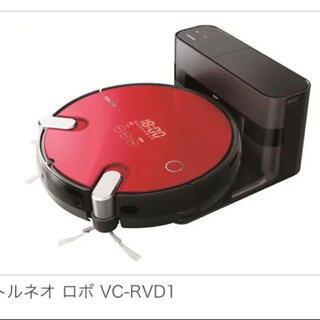 トウシバ(東芝)の【送料込み】TOSHIBA VC-RVD1(R) ロボット掃除機(掃除機)
