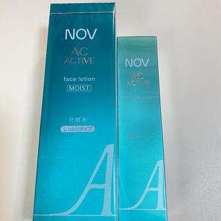 NOV - ノブ  ACアクティブ   モイスチュア 保湿クリーム +化粧水セット