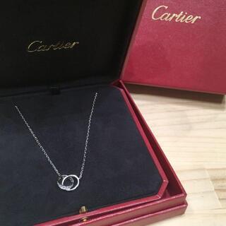Cartier - Cartier LOVEネックレス ダイヤモンド