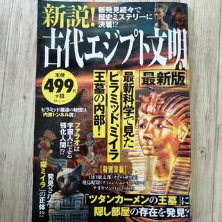 タカラジマシャ(宝島社)の新説!古代エジプト文明最新版(人文/社会)