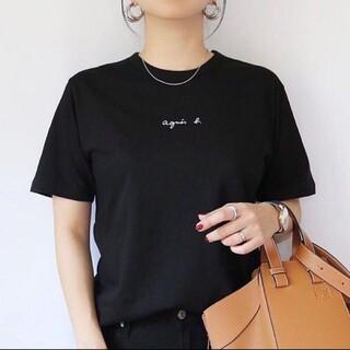 agnes b. - アニエスベー agnes b. チビロゴ ちびロゴ ミニ Tシャツ ロゴT 半袖