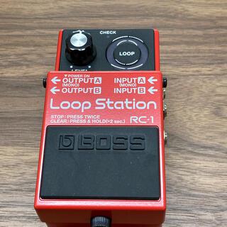ボス(BOSS)のBOSS ループステーション 新品同様品(エフェクター)