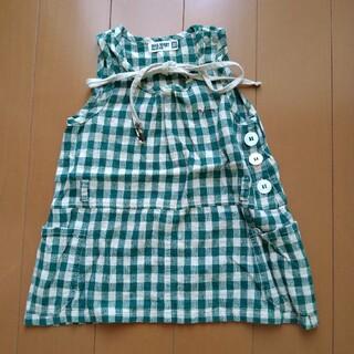 子供服 ワンピース ジーンズ(ワンピース)
