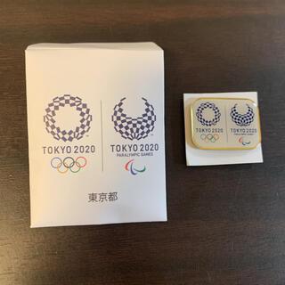 JAL(日本航空) - (公式)東京オリンピック パラリンピック ピンバッジ  1個